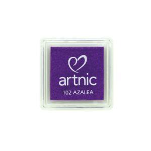 アートニックS アザレア ツキネコ 全96色展開 世界中で愛されるロングセラースタンプパッド 消しゴムはんこやエンボス加工に最適|es-selection