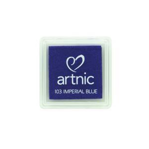 アートニックS インペリアルブルー ツキネコ 全96色展開 世界中で愛されるロングセラースタンプパッド 消しゴムはんこやエンボス加工に最適|es-selection