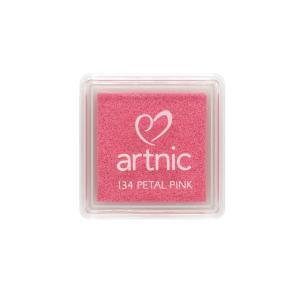 アートニックS ペタルピンク ツキネコ 全96色展開 世界中で愛されるロングセラースタンプパッド 消しゴムはんこやエンボス加工に最適|es-selection