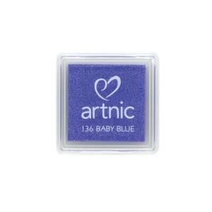 アートニックS ベイビーブルー ツキネコ 全96色展開 世界中で愛されるロングセラースタンプパッド 消しゴムはんこやエンボス加工に最適|es-selection