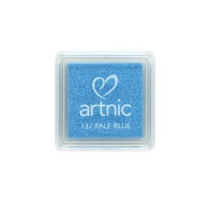 アートニックS ペールブルー ツキネコ 全96色展開 世界中で愛されるロングセラースタンプパッド 消しゴムはんこやエンボス加工に最適|es-selection