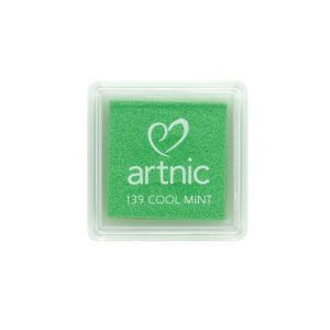 アートニックS クールミント ツキネコ 全96色展開 世界中で愛されるロングセラースタンプパッド 消しゴムはんこやエンボス加工に最適|es-selection