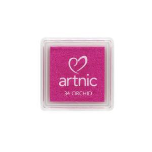 アートニックS オーキッド ツキネコ 全96色展開 世界中で愛されるロングセラースタンプパッド 消しゴムはんこやエンボス加工に最適|es-selection