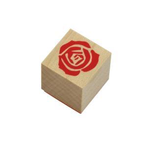 やまだ流オリジナル ラバースタンプ 薔薇の花(1) 洋風テイスト|es-selection