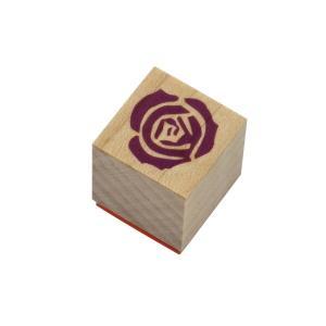 やまだ流オリジナル ラバースタンプ 薔薇の花(2) 洋風テイスト|es-selection