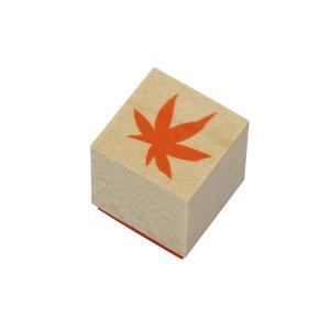 やまだ流オリジナル ラバースタンプ 楓の葉(1) 和風テイスト|es-selection