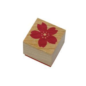 やまだ流オリジナル ラバースタンプ 桜の花 和風テイスト|es-selection