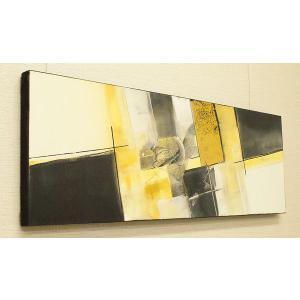 バリ絵画 モダンアート 100×35 28 バリ 絵画 壁掛け アート アジアン アートパネル モダン 北欧 ファブリックパネル|es-style