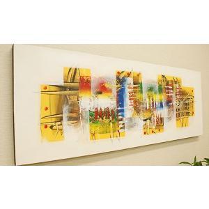 バリ絵画 モダンアート120×45 26 絵画 壁掛け アート アジアン雑貨 アートパネル モダン 北欧 ファブリックパネル バリ 雑貨 モダンアート|es-style
