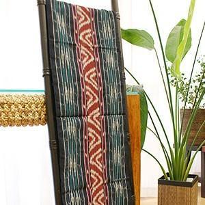 イカット 06 アジアン 布 壁掛け マルチカバー テーブルランナー タペストリー 手織り 生地 バリ アンティーク おしゃれ 和風|es-style