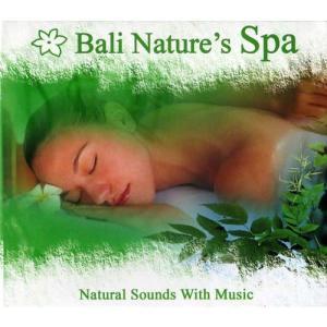 Bali Nature's Spa 試聴OK ヨガ ガムラン リラクゼーション ヒーリング CD スパ サロン メール便 アジアン雑貨 バリ島 アロマ