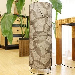 バルリーフ フロアランプ 60cm LED対応 アジアン 照明 アジアン雑貨 スタンドランプ 北欧 間接照明 和 アジアン バリ インテリア リゾート|es-style