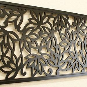 アートパネル ロータス 120×45 アートパネル おしゃれ 壁掛け インテリア モノトーン モダン アジアン バリ 北欧  チーク|es-style