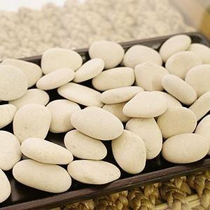 ナチュラルストーン ティモール ホワイト M 約400g 化粧石 観葉植物 飾り石 化粧砂利 マルチング ガーデニング アジアン バリ テラリウム|es-style