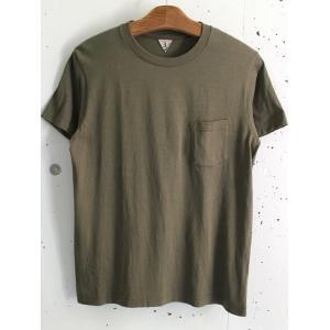 FilMelange(フィルメランジェ) ポケットTシャツ SUNNYサニー  メンズTシャツ  -KHAKI-|escargot-circus