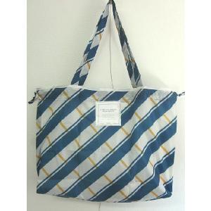 DANKE (ダンケ)  RAIN BAG レインバッグ -BLUE ×YELLOW CHECK-|escargot-circus