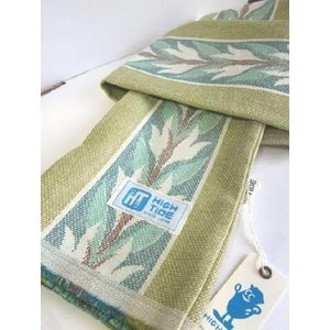 HIGH TIDE(ハイタイド)PLANT HUNTER SCARF (プラントハンタースカーフ) -GREEN-|escargot-circus