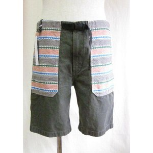 HIGH TIDE(ハイタイド) ショートパンツ GREAT BEATNIK  SHORT PANTS -GREEN-|escargot-circus