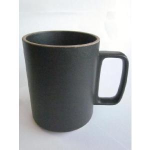 【HPB021】 HASAMI PORCELAIN  (ハサミポーセリン) MUG CUP マグカップ -BLACK-|escargot-circus