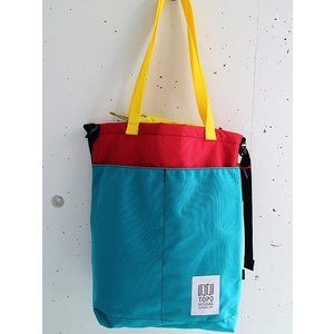 TOPO DESIGNS  トポデザイン CINCH TOTE シンチトート  −TURQUOISE-|escargot-circus