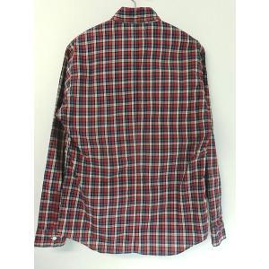 weac. (ウィーク) パグちゃんシャツ RED CHECK −小衿シャツ− 【LADIES】|escargot-circus|06