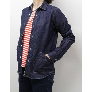 weac. (ウィーク) ZIP SHIRTS  ジップシャツ 【LADIES】|escargot-circus