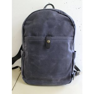 WINTER SESSION   ウィンターセッション  DAY PACK  デイパック -GRAY WAXED-  ワックスキャンバスリュック|escargot-circus