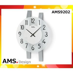 クォーツ壁掛け時計 おしゃれ ドイツ製 シンプル 23×62×7cm 9202 AMS「送料1620円」|esco-lightec