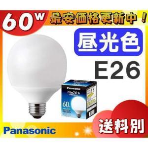 パナソニック パルックボール 定格寿命:10,000時間 EFG15ED/11E G15形(ボール電球形状)・E26 電球60形タイプ 昼光色 6500K 「送料区分B」|esco-lightec
