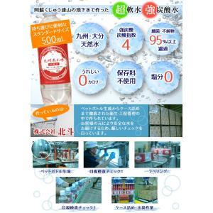 北斗九州あわ水 炭酸水500mlペットボトルx...の詳細画像4