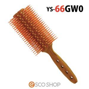 Y.S.PARK YSパーク カールシャインスタイラー ロールブラシ YS-66GW0 (YS66GW0 ブローブラシ ヘアブラシ 豚毛 直径70mm ワイエスパーク)|escoshop