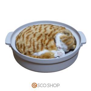 キャットハウス 土鍋型ネコベッド 猫鍋 NECONABE ヒーター付き WG001M 送料無料 escoshop
