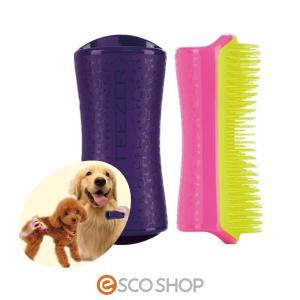 ペットティーザー PET TEEZER (タングルティーザー ブラシ 犬 イヌ ハード ソフト ダブルコート シングルコート)(送料無料)|escoshop