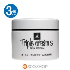 (3個セット)ジュモン化粧品 トリプルクリームS 215g (馬油 アロエエキス シソエキス スキンケア 乾燥肌 潤い うるおい 保湿 乾燥対策)(送料無料)|escoshop