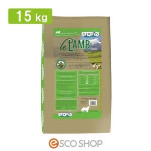 アディクション ル・ラム グレインフリードッグフード 15kg (ドライフード アレルギー ラム肉 ビタミンB豊富 低カロリー 穀物不使用 全年齢)(送料無料)|escoshop