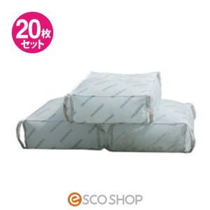 土のう袋 スーパーダッシュバッグ 20枚入(土のいらない 防災グッズ 非常用 災害用 水害対策 洪水対策)(送料無料)|escoshop