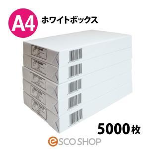 コピー用紙 A4 5000枚 送料無料 A4用紙(500枚x10冊)コピー&レーザー(メーカー直送・代引不可・同梱不可)(送料無料)