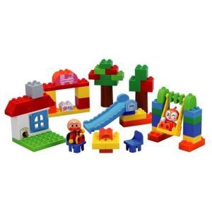 ブロックラボ ワールドシリーズ たのしいアンパンマンタウンバケツ  おもちゃ こども 子供 知育 勉...