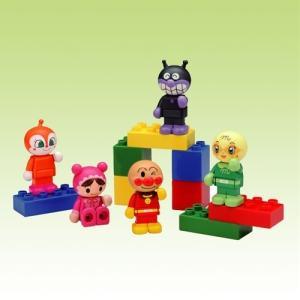 ブロックラボ ワールドシリーズ ブロックといっしょに遊べる!アンパンマンブロックドールセット|esdigital