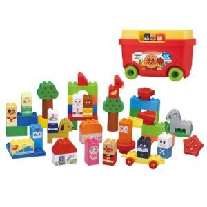 種別:おもちゃ 発売日:2011/07/16 説明:大きなタイヤが付いたワゴン型の収納ケースに入った...