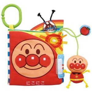 ベビラボ アンパンマン しかけい〜っぱい!布えほん  おもちゃ こども 子供 知育 勉強 ベビー 0歳3ヶ月|esdigital