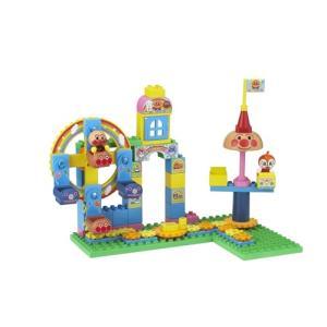 ブロックラボ おおきな観覧車のくるくる遊園地ブロックバケツ  おもちゃ こども 子供 知育 勉強 3...