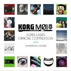 sanodg KORG M01D Super Users Official Compilation vol.1 CD の商品画像|ナビ