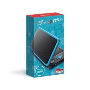 3DS Newニンテンドー2DS LL ブラック×ターコイズ|esdigital