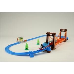 プラレール きかんしゃトーマス ぐらぐらつり橋セット  おもちゃ こども 子供 男の子 電車 3歳