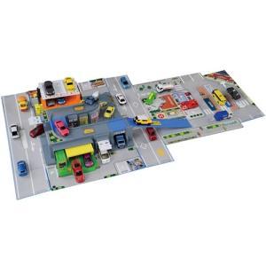 トミカ とびだす!おかたづけ立体マップ  おもちゃ こども 子供 男の子 ミニカー 車 くるま クリスマス プレゼント 3歳