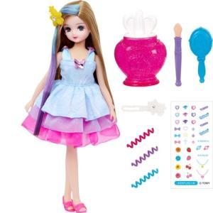 リカちゃん キラメイク つばさちゃん  おもちゃ こども 子供 女の子 人形遊び 3歳