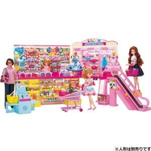セルフレジでピッ!おおきなショッピングモール  おもちゃ こども 子供 女の子 人形遊び ハウス クリスマス プレゼント 3歳 リカちゃん|esdigital