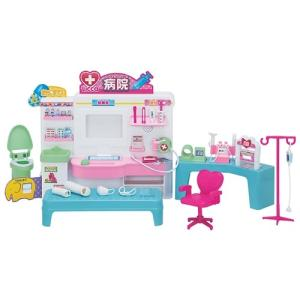 リカちゃん ドキドキちょうしんき!リカちゃん病院  おもちゃ こども 子供 女の子 人形遊び ハウス クリスマス プレゼント 3歳|esdigital