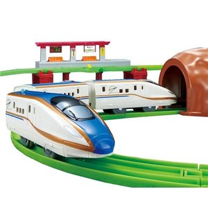 プラレール にぎやかアナウンス!サウンドE7系新幹線かがやきレールセット